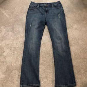 Simply Vera Wang bootcut jeans